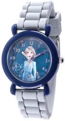 Disney Kids Frozen II Elsa Time Teacher Gray Silicone Band Watch