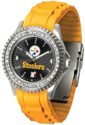 Gametime Pittsburgh Steelers Ladies Sparkle Watch