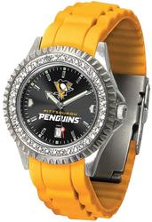 Gametime NHL Pittsburgh Penguins Ladies Sparkle Watch