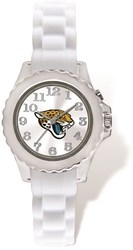 Youth NFL Jacksonville Jaguars Flash White Strap Watch