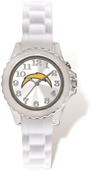 Youth NFL Los Angeles Chargers Flash White Strap Watch