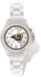 Youth NFL Los Angeles Rams Flash White Strap Watch
