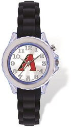 Youth MLB Arizona Diamondbacks Flash Black Strap Watch