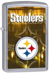 NFL Zippo Pittsburgh Steelers High Polish Chrome Lighter