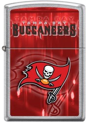 NFL Zippo Tampa Bay Buccaneers High Polish Chrome Lighter