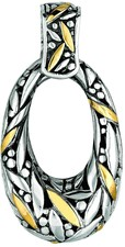 Phillip Gavriel - 18K Yellow Gold & Sterling Silver Oxidized 18