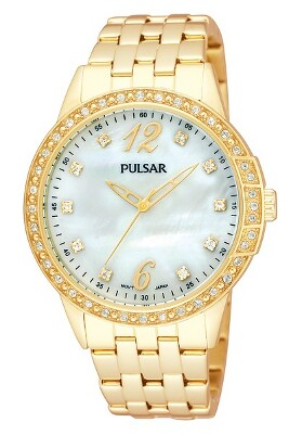 Pulsar Swarovski Crystal PH8052 - Quartz Pulsar Watch (Womens) - LIMITED STOCK
