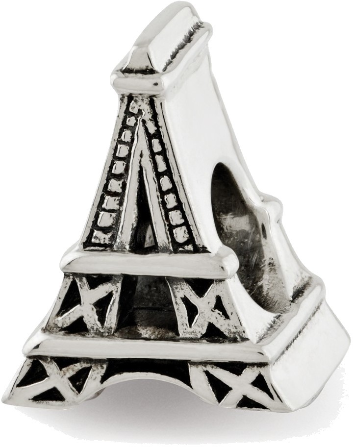 Sterling Silver Reflections Eiffel Tower Bead QRS2993