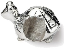 Sterling Silver Reflections Kids Turtle Bead QRS1238