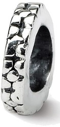 Sterling Silver Reflections Floral Spacer Bead QRS128