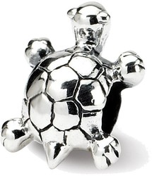 Sterling Silver Reflections Kids Turtle Bead QRS753