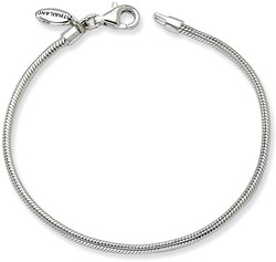 6 Sterling Silver Reflections Kids Bead Bracelet