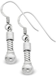 Sterling Silver Reflections Short Earrings