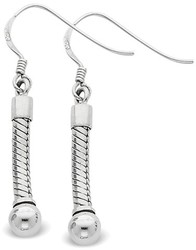 Sterling Silver Reflections Medium Earrings