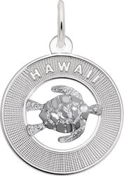 Hawaii w/ Turtle Charm (Choose Metal) by Rembrandt