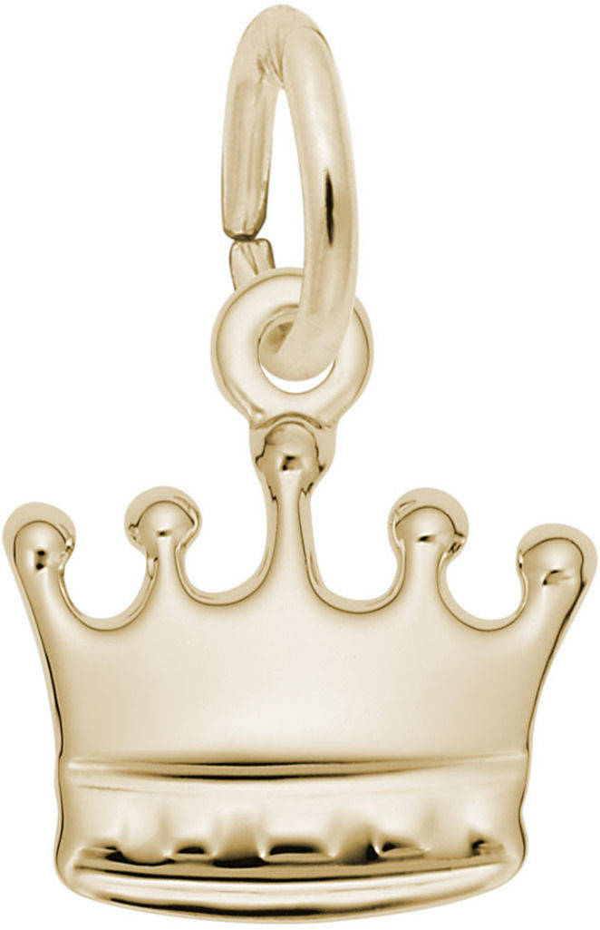 Crown Charm (Choose Metal) by Rembrandt