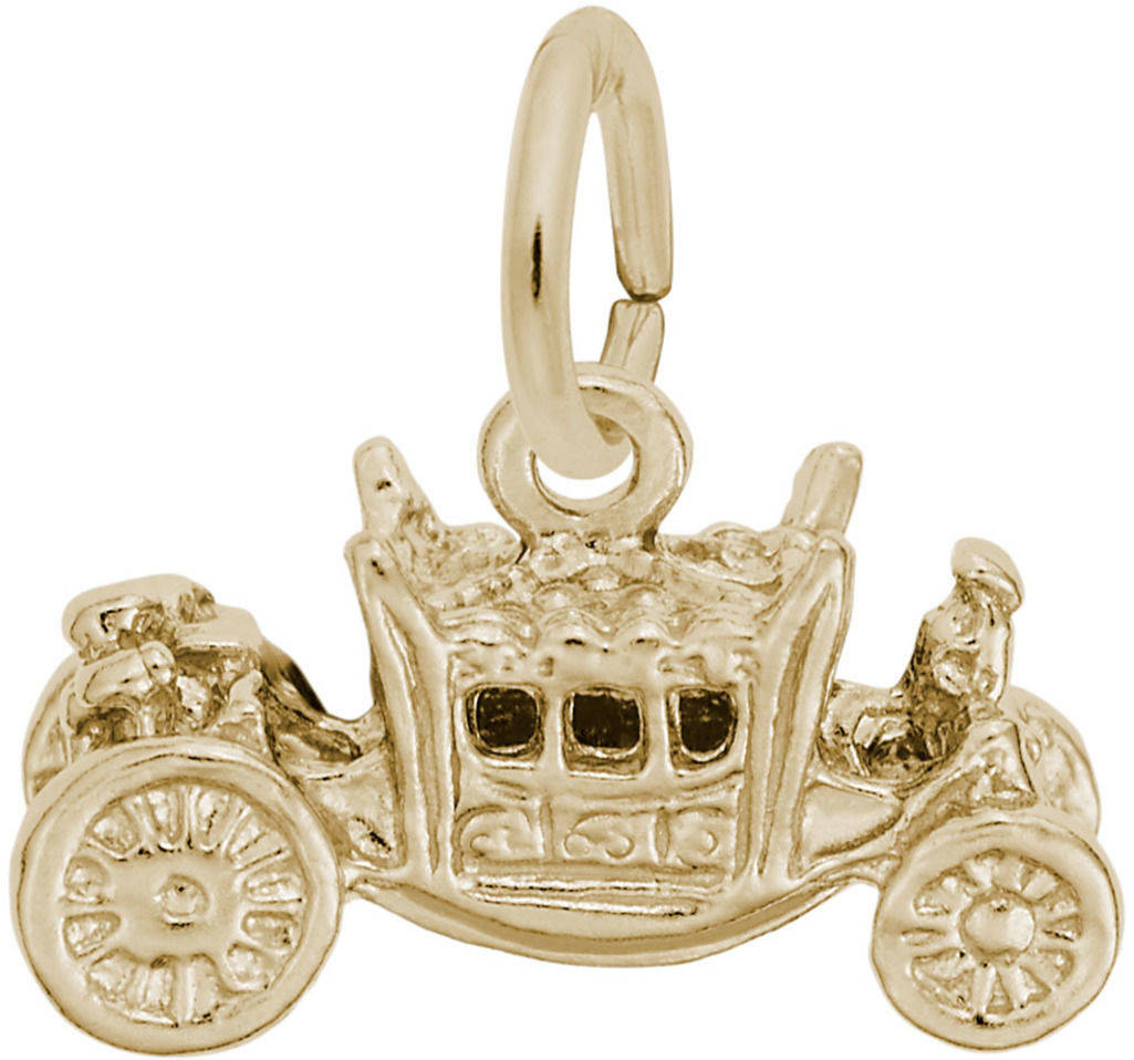 Royal Carriage Charm (Choose Metal) by Rembrandt