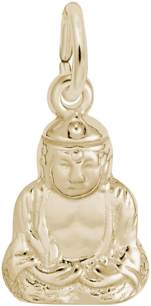 Sitting Buddha Charm (Choose Metal) by Rembrandt