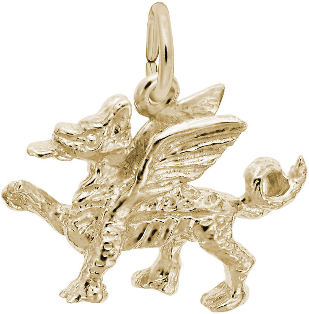 Griffin Charm (Choose Metal) by Rembrandt
