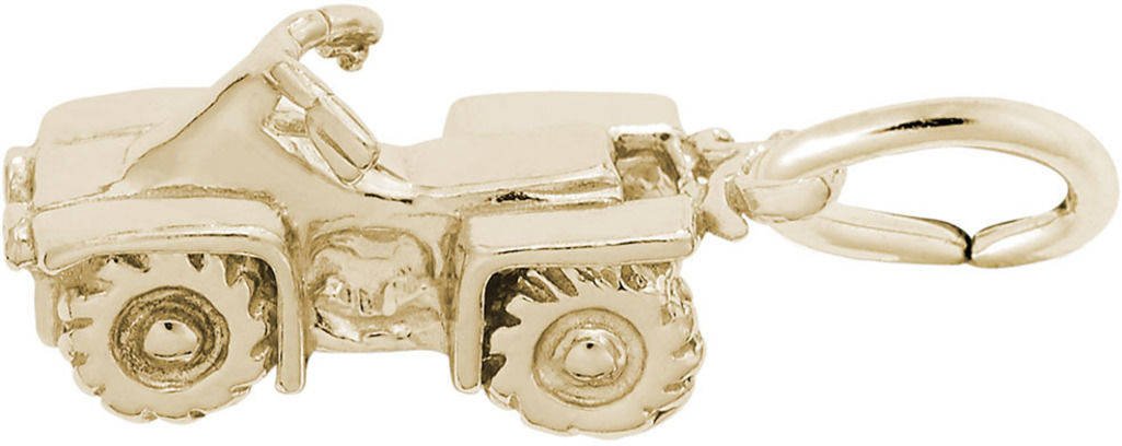 ATV Charm (Choose Metal) by Rembrandt