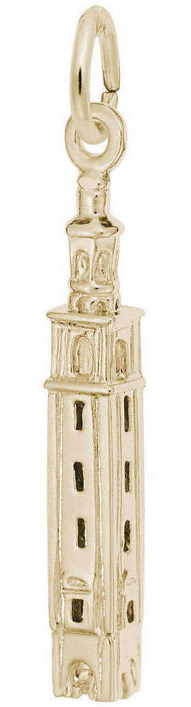 Carillon Tower Charm (Choose Metal) by Rembrandt
