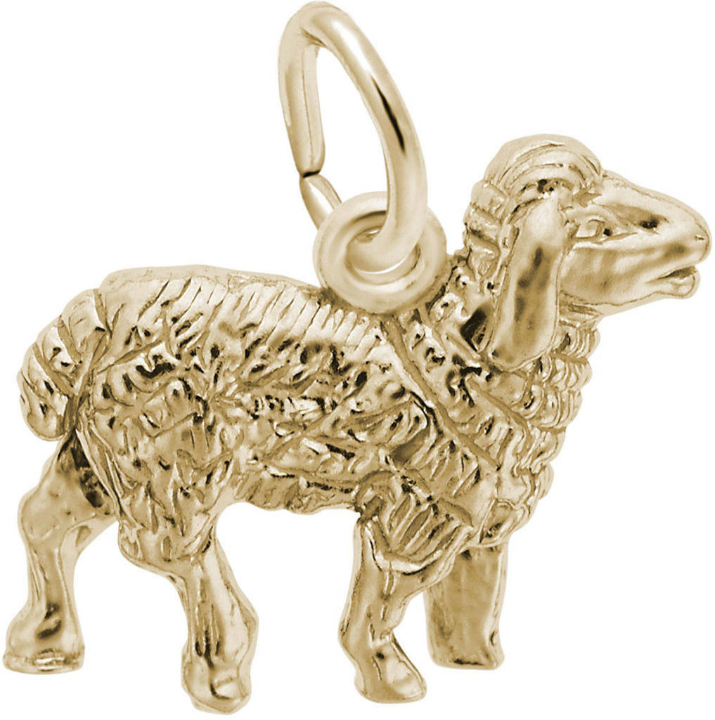 Sheep Charm (Choose Metal) by Rembrandt