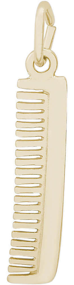 Hair Comb Charm (Choose Metal) by Rembrandt