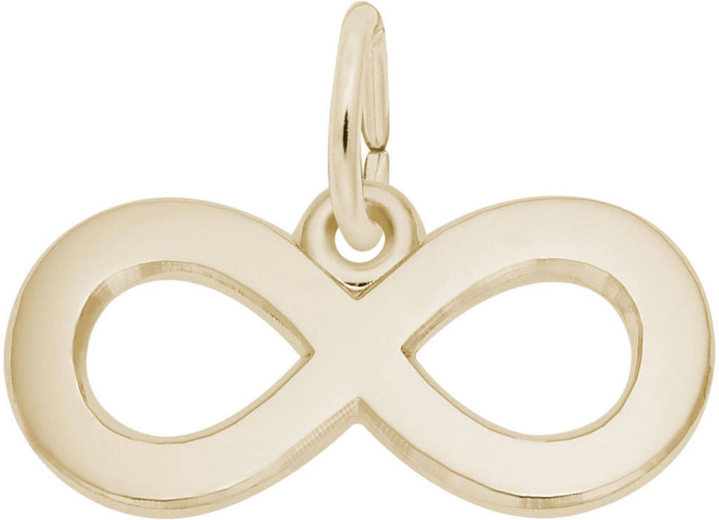 Infinity Charm (Choose Metal) by Rembrandt