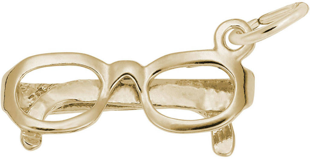 Glasses Charm (Choose Metal) by Rembrandt
