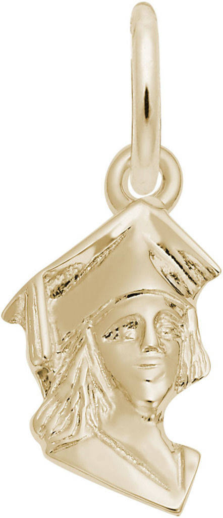 Graduation Charm (Choose Metal) by Rembrandt