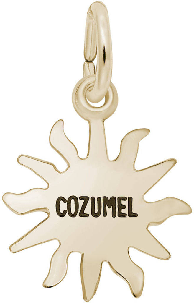 Cozumel Sun Charm (Choose Metal) by Rembrandt