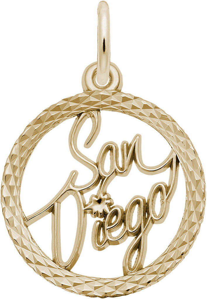 San Diego Charm (Choose Metal) by Rembrandt