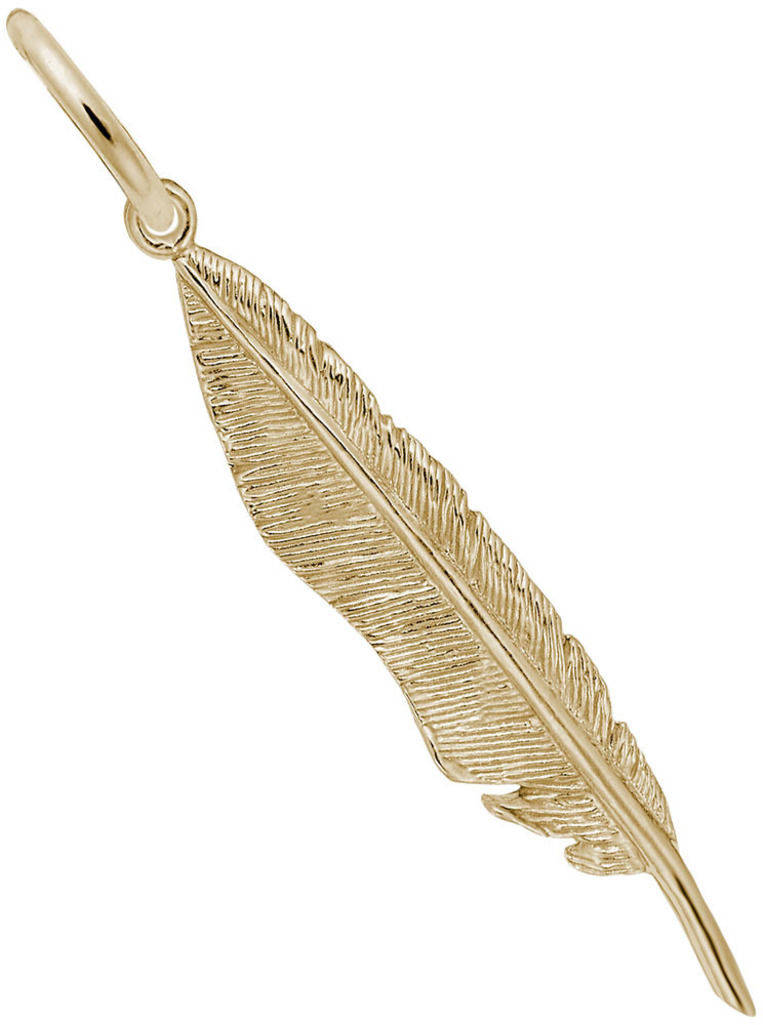 Feather Charm (Choose Metal) by Rembrandt