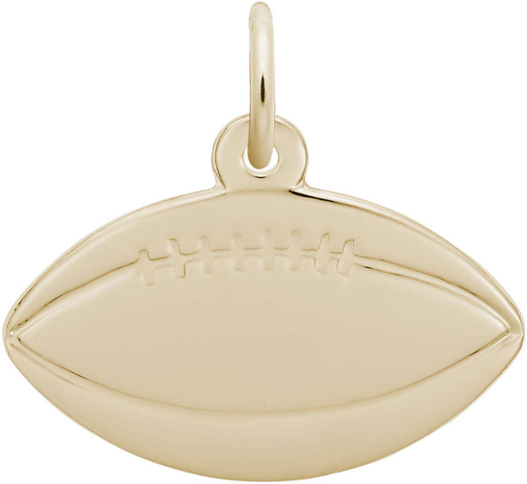 Football Charm (Choose Metal) by Rembrandt