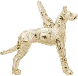 Great Dane Charm (Choose Metal) by Rembrandt