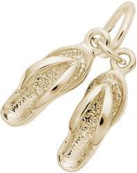 Sandals Charm (Choose Metal) by Rembrandt
