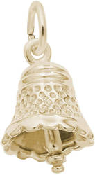 Small Speckled Bell Charm (Choose Metal) by Rembrandt