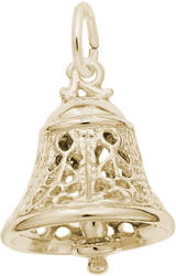 Filigree Bell Charm (Choose Metal) by Rembrandt