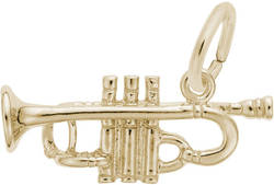 Trumpet Charm (Choose Metal) by Rembrandt