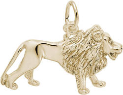 Lion Charm (Choose Metal) by Rembrandt