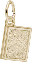 Standard Book Charm (Choose Metal) by Rembrandt