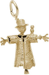 Scarecrow Charm (Choose Metal) by Rembrandt