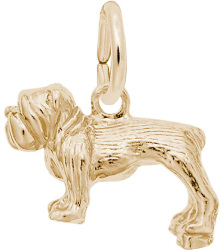 Bulldog Charm (Choose Metal) by Rembrandt