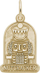Nutcracker Charm (Choose Metal) by Rembrandt