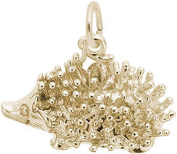Porcupine Charm (Choose Metal) by Rembrandt