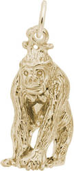 Gorilla Charm (Choose Metal) by Rembrandt