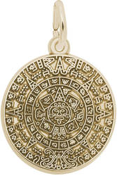 Aztec Sun Charm (Choose Metal) by Rembrandt