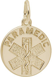Paramedic Charm (Choose Metal) by Rembrandt