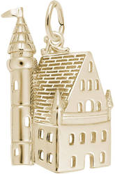 Castle Charm (Choose Metal) by Rembrandt