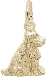 Cocker Spaniel Charm (Choose Metal) by Rembrandt